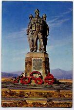 The Commando Memorial, Spean Bridge, Inverness-shire, Scotland Postcard - 1960