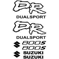 COMPATIBLE MAXI KIT SUZUKI DR DUALSPORT 800S Autocollants Adhésifs Moto Qualité