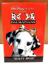 "Disney ""Beauty Spots"" Cast Member 101 Dalmatians Movie Dog 1997 Button Pin New!"