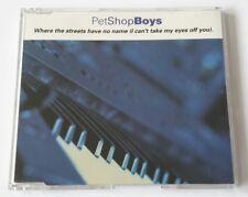 Pet Shop Boys Where The Streets Have No Name Frankreich / France CD Unique Cover