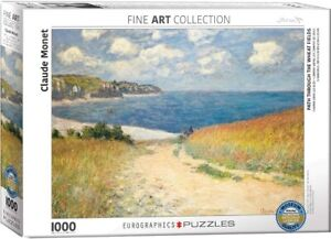 Path Through The Wheat Fields- Monet 1000 piece jigsaw puzzle 680mm x 480mm (pz)