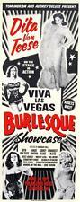 Burlesque Showcase POSTER Dita Von Teese Viva Las Vegas 2017 Rob Kruse VLV20