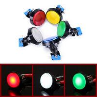 60mm LED Light Big Round Arcade Video Game Player Push Button Switch Lamp RF