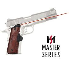 Crimson Trace Master Series Rosewood Red Lasergrips for 1911 Full Size - LG-901