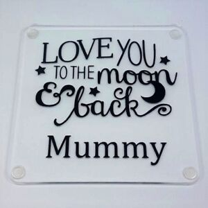 Mothers Day Personalised Coaster- Gift for Mum, Mummy, Nanny,Grandma  ANY NAME