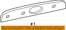FORD OEM 01-03 Explorer License Plate Light Lamp-License Shield 1L2Z13508AA