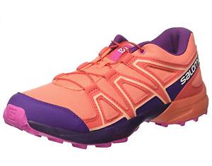 Salomon Speedcross J Older Kids / Youth Orange Trail Running Shoes Trainers