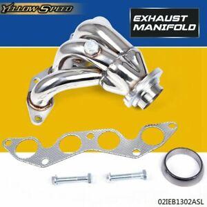 UK Stainless Steel Exhaust Manifold For Honda Civic Vtec 1.4 1.6 1.7 EP2 01‐05