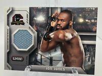 Jon Jones -- 2014 Topps UFC Champions --  Fight Mat Relic of The GOAT