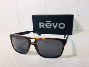 REVO RE1019 02 GY HOLSBY Tortoise & Black w/ Graphite POLARIZED Sunglasses $199