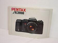 Pentax A3000 Instruction Manual. English Edition #002000