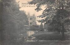 TROOZ CHATEAU VERVIERS BELGIUM GERMANY WW1 MILITARY FELDPOST POSTCARD 1915 (197)