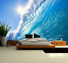 """Prepasted Wall Mural Foto Wall Decor Surfing  Wallpaper  82.7"""" X 55.5""""  BZ642"""