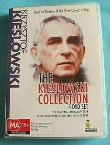 THE KIESLOWSKI COLLECTION DVD Krzysztof Kieslowski 5 Movies Region 4 see below