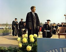 President John F. Kennedy at University of Maine Orono 1963 - New 8x10 Photo