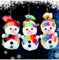 Christmas Snowman Ornaments Festival Party Xmas Tree Hanging Decoration new toy