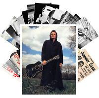 Postcards Pack [24 cards] Johnny Cash Country Folk Rock Music Vintage CC1245
