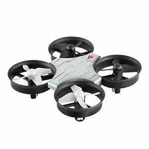 Voyage Aeronautics PA-1008 Palm Sized High Performance Drone with Remote- Silver