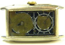 VTG 1930'S HAMILTON SECKRON DOCTOR'S WATCH 14K GOLD FILLED RUNS Repair As Is