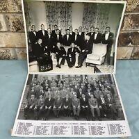 1958 Photo Harvard University Class 1943 15th Year Reunion Famous Alumni 10x13.5