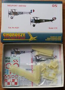 A221 - NIEUPORT 83E1/E2- Choroszy Modelbud-1/72