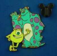 Mike Wazowski Sulley Monsters Inc Monsters, Inc Disney Pin # 48113