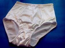 Women Panties,Briefs,Body Control Ann Diane Size 4XL White Satin W/decoration