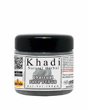 Khadi Natural Herbal Charcoal Face Scrub  free shipping  US
