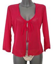Damen Bluse Sexy Olympia lange Ärmel Rot Gr: 40