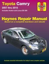 Toyota Camry 2007-2015 Haynes Workshop Manual Avalon Lexus ES 350 Models Repair