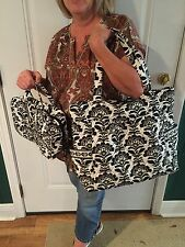 Vera Bradley Fanfare bags (Grand cosmetic bag and matching large satchel).