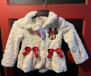 Disney Minnie Mouse Girls Ivory Jacket