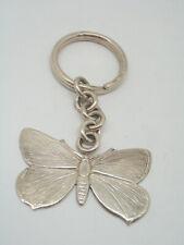 Schlüsselanhänger mit Schmetterling in Silber 925 - Lepidottero - Schlüssel -