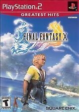 Final Fantasy X (Sony PlayStation 2, 2001) Greatest Hits Game Final Fantasy 10