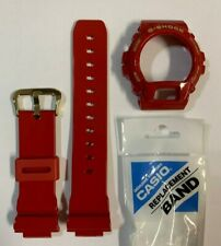 CASIO Original  G-Shock Strap DW-6930A-4 Glosse Red Band & Bezel DW6930A-4