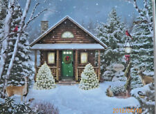 .PUZZLE.....JIGSAW.....GIANA....Christmas Cabin...500pc.....Sealed.