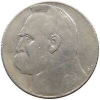 POLAND 10 ZLOTYCH 1934 #s33 519