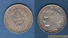 5 Francs Cérès - 1851 A Paris - TTB