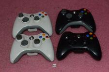 4 Microsoft Xbox 360 Wireless Controllers.