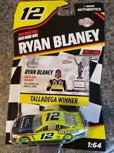 Ryan Blaney #12 Talladega Winner NASCAR Authentics 2021 Wave RW2 1:64