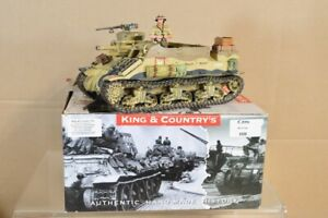 KING & COUNTRY EA058 WWII BRITISH 8th ARMY M7 PRIEST ARMOURED PERSONNEL CARRIER
