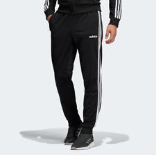 adidas Men's Essentials 3-Stripes Tapered Tricot Pants Sportswear Joggers