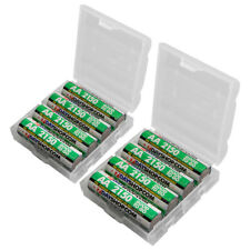 8x AA Rechargeable Batteries 7dayshop NiMH Good to Go 2150 mAh in FREE Cases!