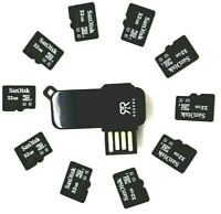 Genuine SanDisk 32GB Class 10 Full HD U1 Micro SDHC Memory Flash Card