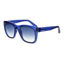 Gafas de sol de mujer azul de plástico