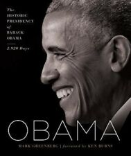 Obama: The Historic Presidency of Barack Obama 2,920 Days by Mark Greenberg NEW