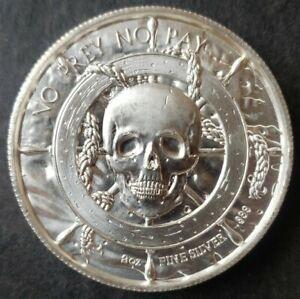 No Prey No Pay 2oz Silver High-Relief Pirate Round