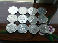 RARE LARGE/OLD 50p COINS 1969-1970-1994 IN EX GRADES CHOOSE WHICH YEAR HUNT