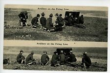 Artillery on the Firing Line - Stratton Chattanooga TN Army Military Gun 1910s