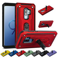 Heavy Duty Case Cover For Samsung Galaxy S89 10 Plus Note8 9 10 Holder Kickstand